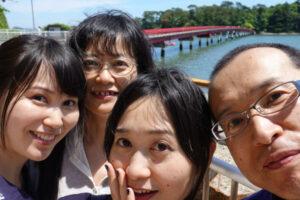 娘たちと松島観光